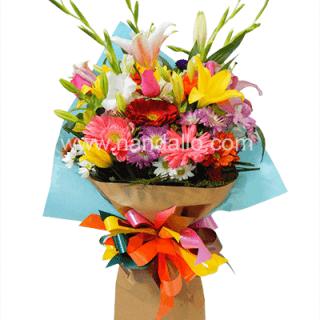 Ramo de flores primaverales