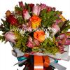 Ramo de rosas de colores