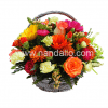 Arreglo en canasta floral