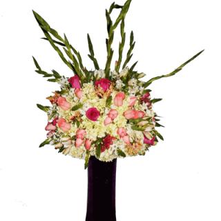Arreglo floral para buffet o evento