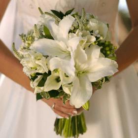bouquet con liirios