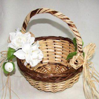 Canasta para flores de boda