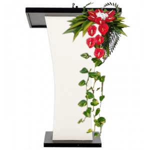 Arreglos florales para podium