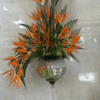 Arreglo floral con opalo