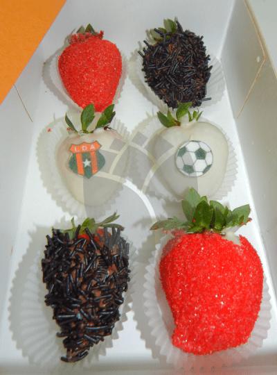 Caja de fresas Liga deportiva Alajuelense
